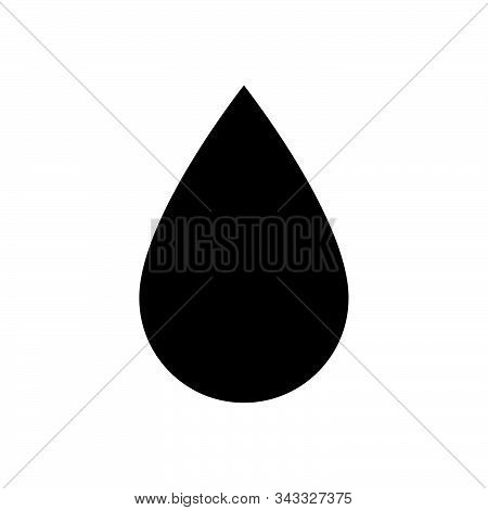 Drop Icon Isolated On White Background. Drop Icon In Trendy Design Style. Drop Vector Icon Modern An