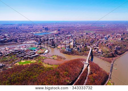 145th Street Bridge Between Manhattan And Bronx Nyc Reflex