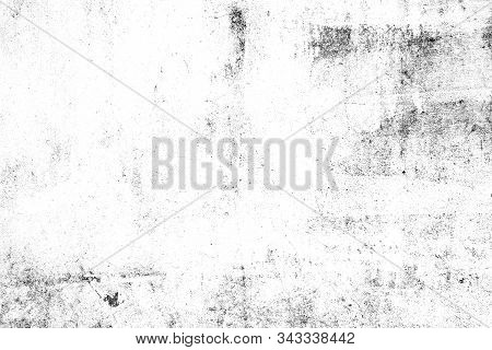 Abstract Texture Dust Particle And Dust Grain On White Background. Dirt Overlay Or Screen Effect Use