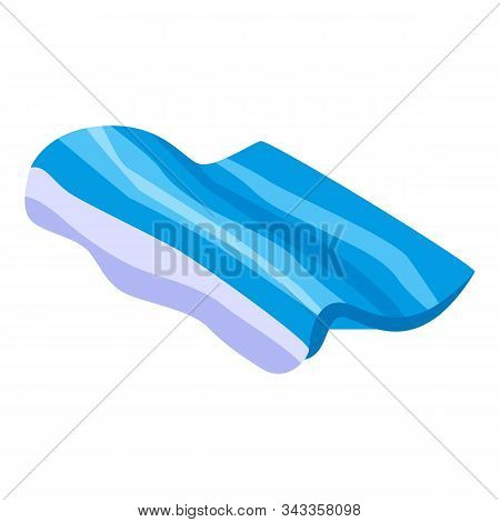 Tsunami Wave Icon. Isometric Of Tsunami Wave Vector Icon For Web Design Isolated On White Background