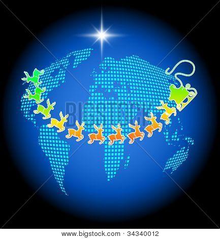 santa over world esp10