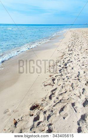 Beach Near Torre San Giovanni