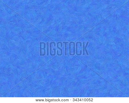 Blue Fabric Wool Fur Pattern, Feather Texture Carpet Design Luxury Abstract For Use As A Background