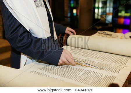 Boy with Torah