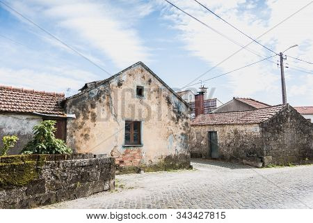 Architecture Detail Of Typical House In A Small Village In Northern Portugal