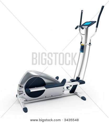 Elliptical Stationary Bicycle