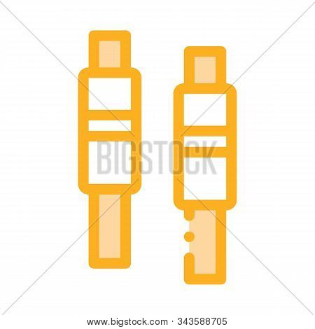 Bails Icon Vector. Outline Bails Sign. Isolated Contour Symbol Illustration