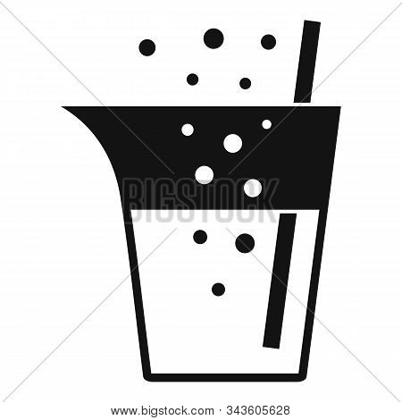 Boiling Chemical Pot Icon. Simple Illustration Of Boiling Chemical Pot Vector Icon For Web Design Is