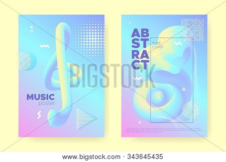 Rainbow Pastel Flow. Abstract Gradient Background. Wave Design. Colorful Placard. Magic Pastel Poste
