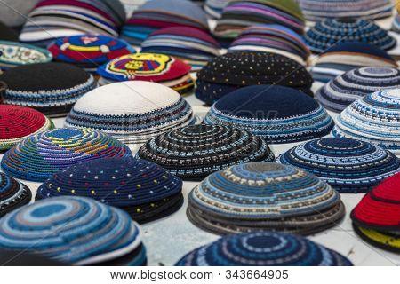 Yarmulke, A Jewish Head Covering Jewish Headdress Jewish Headdress.