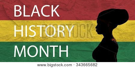 Black History Month. African American History. Celebration. In February In United States And Canada.