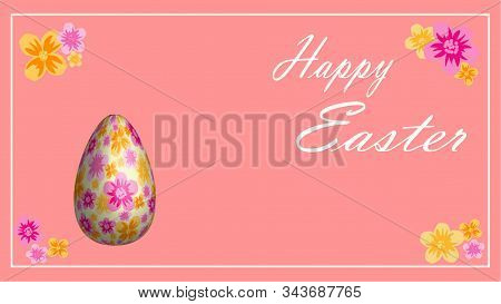 Easter Eggs. Happy Easter Card. Multi-colored Easter Eggs. Easter. Easter Background. Easter Eggs.