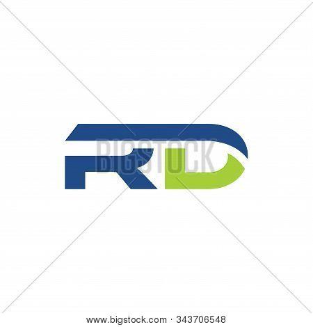 Initial Rd Logo Vector Designs Template Design
