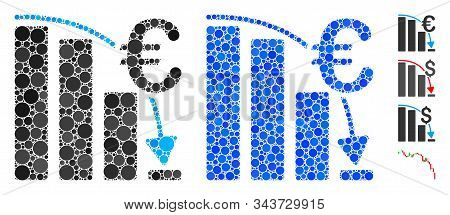 Euro Epic Fail Crisis Composition Of Round Dots In Different Sizes And Shades, Based On Euro Epic Fa