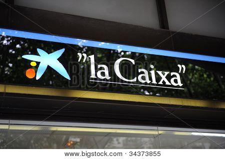 Central Branch Of La Caixa Bank In Palma