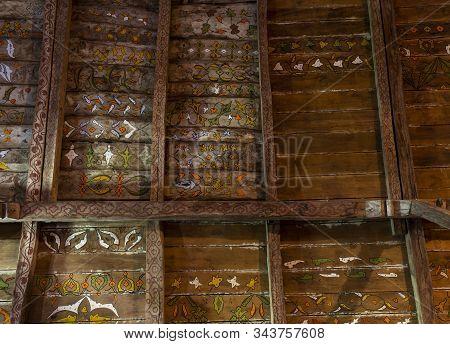 Gogceli Camii Paintings Ceiling Turkey
