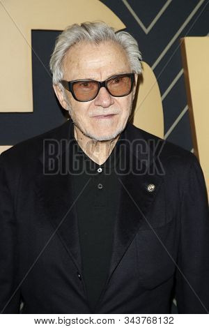 LOS ANGELES - JAN 4:  Harvey Keitel at the Showtime Golden Globe Nominees Celebration at the Sunset Tower Hotel on January 4, 2020 in West Hollywood, CA