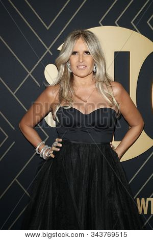 LOS ANGELES - JAN 4:  Tiziana Rocca at the Showtime Golden Globe Nominees Celebration at the Sunset Tower Hotel on January 4, 2020 in West Hollywood, CA