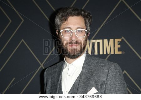 LOS ANGELES - JAN 4:  Dave Holstein at the Showtime Golden Globe Nominees Celebration at the Sunset Tower Hotel on January 4, 2020 in West Hollywood, CA