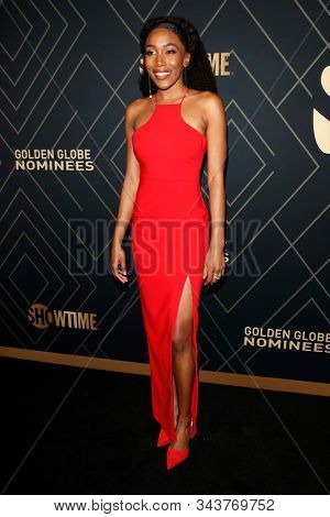 LOS ANGELES - JAN 4:  Lauren E Banks at the Showtime Golden Globe Nominees Celebration at the Sunset Tower Hotel on January 4, 2020 in West Hollywood, CA