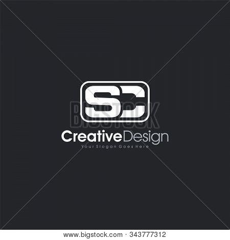 Sc Logo Letter Initial Sc Abstract Logo Template Design Vector, Emblem, Design Concept, Creative Sym