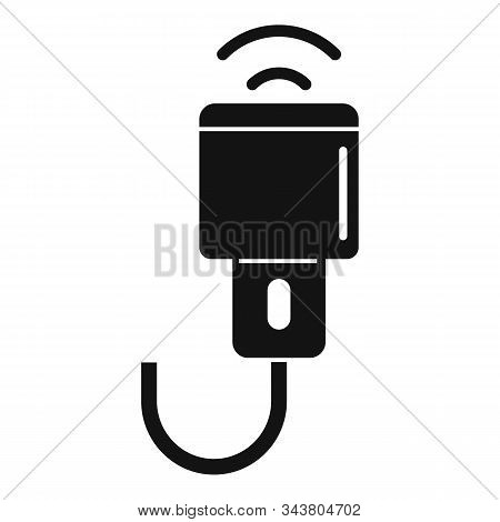 Ultrasonic Scanner Icon. Simple Illustration Of Ultrasonic Scanner Vector Icon For Web Design Isolat