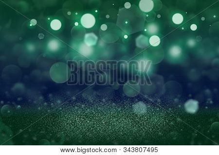 Wonderful Shining Abstract Background Glitter Lights Defocused Bokeh - Festal Mockup Texture With Bl