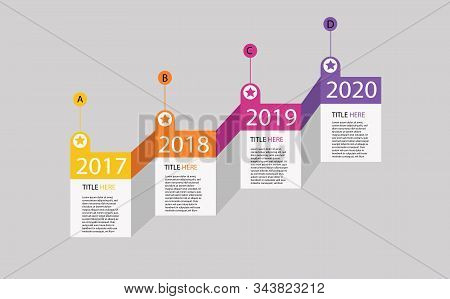 Timeline Infographic Design Vector And Marketing Icons Can Be Used For Workflow Layout, Diagram, Ann