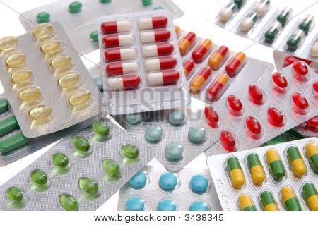Medicine Pill Grid