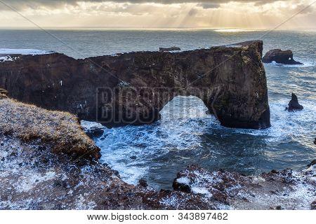 Iceland Vik, winter in Iceland