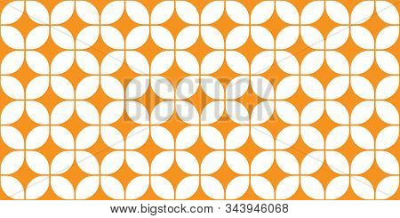 Mid-century Modern Wall Pattern | Seamless 60s Background | Stylish Retro Design | Groovy 1960s Repe