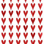 small textured hearts background will tile seamlessly poster