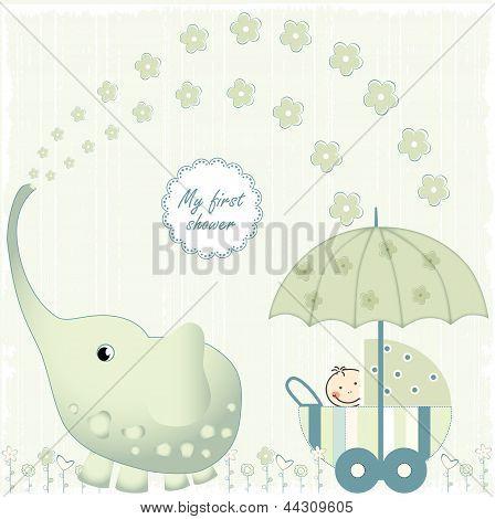First Baby Shower