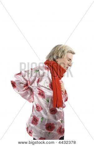 Backache Senior Woman