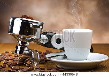An espresso machine group head