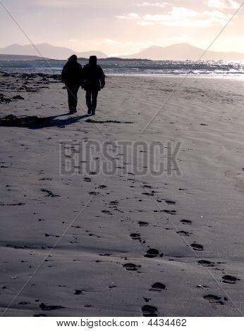 Beach Footprints