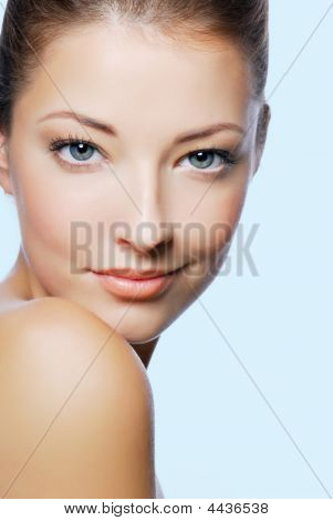 Beautiful Caucasian Woman