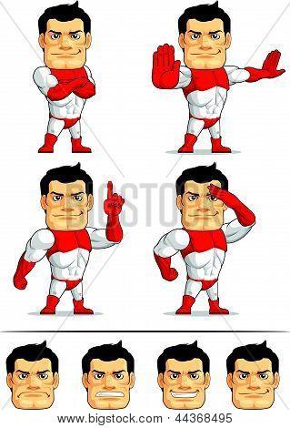 Superhero Customizable Mascot