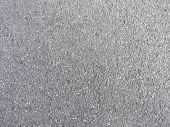 Close up view of a concrete gravel. poster