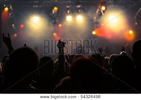 Photo Of Rock Concert