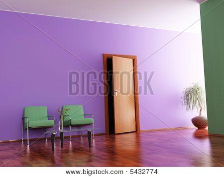 Interior Of A Hall