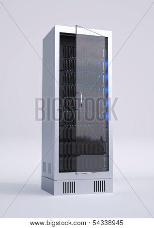 Single Computer Rack