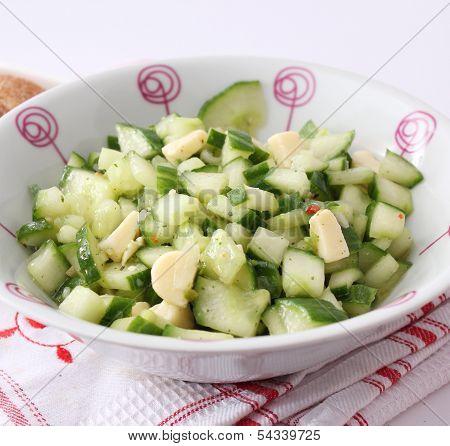 salad of cucumer