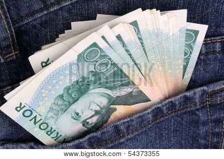 Swedish Kroner Jeans