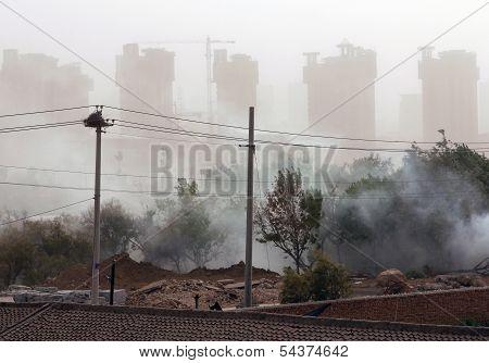 Sandstorm In The City