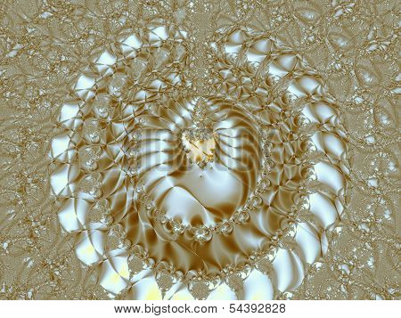 Gold circles II.
