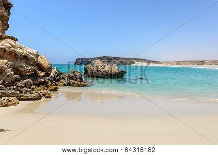 Beach At Wadi Darbat, Taqah (oman)