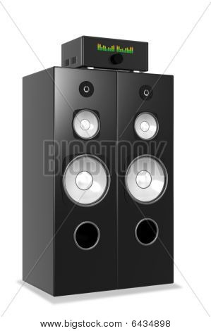Loud Music From Big Audio System