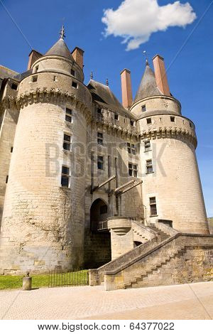 Chateau de Langeais in Loire Valley, France
