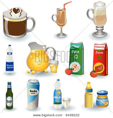 Variety Of Drinks 3